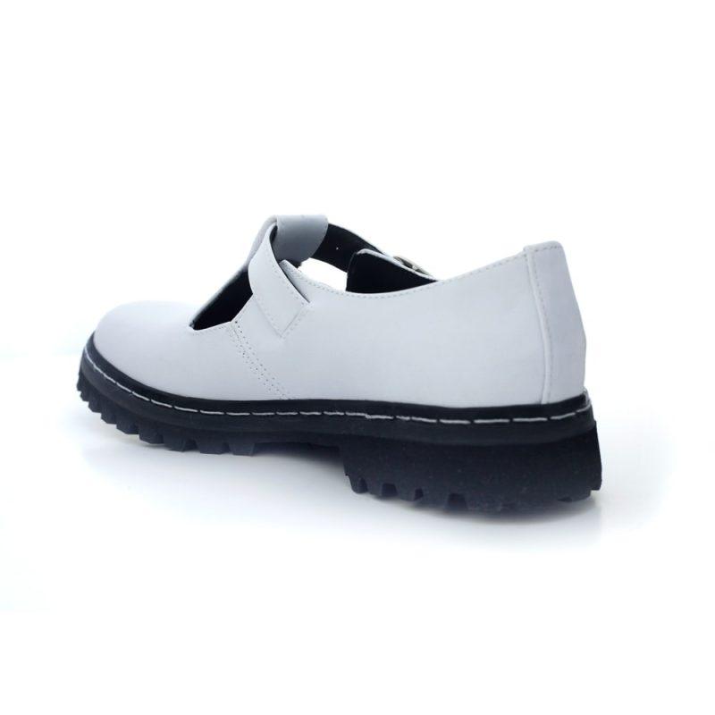 Sapato Tratorado Teodora Branco 5