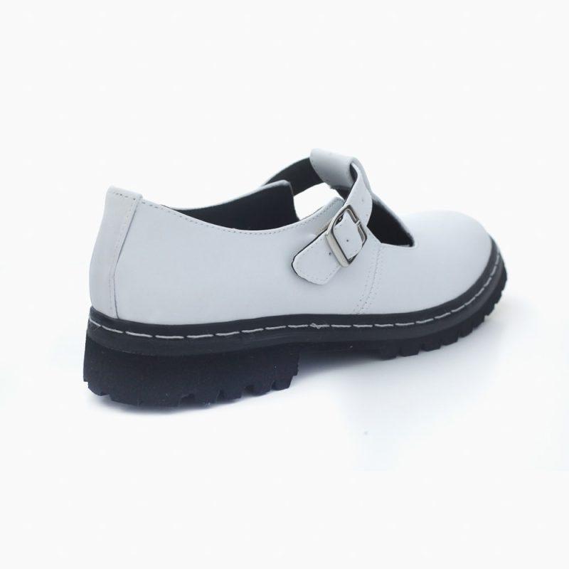 Sapato Tratorado Teodora Branco 4