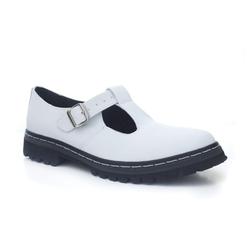 Sapato Tratorado Teodora Branco 6