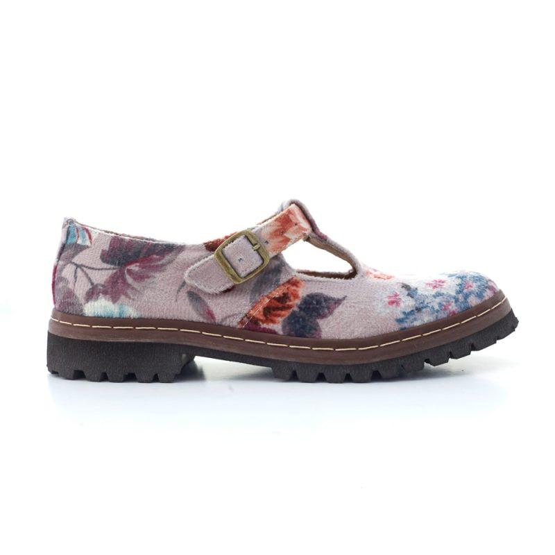 Sapato Tratorado Teodora Lilium 1