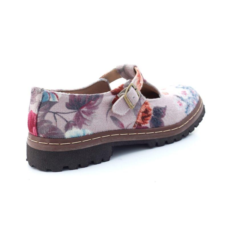 Sapato Tratorado Teodora Lilium 3