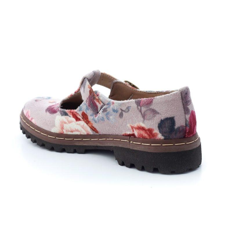 Sapato Tratorado Teodora Lilium 4
