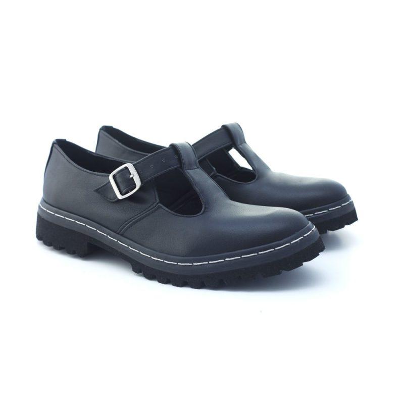 Sapato Tratorado Teodora Preto 2
