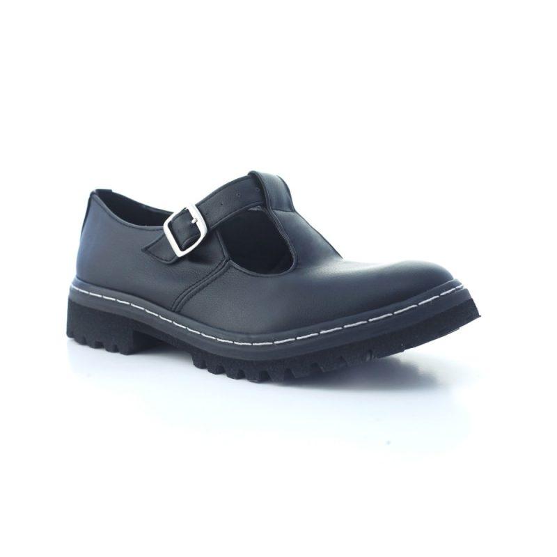Sapato Tratorado Teodora Preto 3