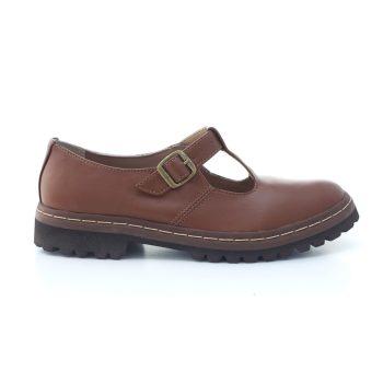 Sapato Tratorado Teodora Conhaque