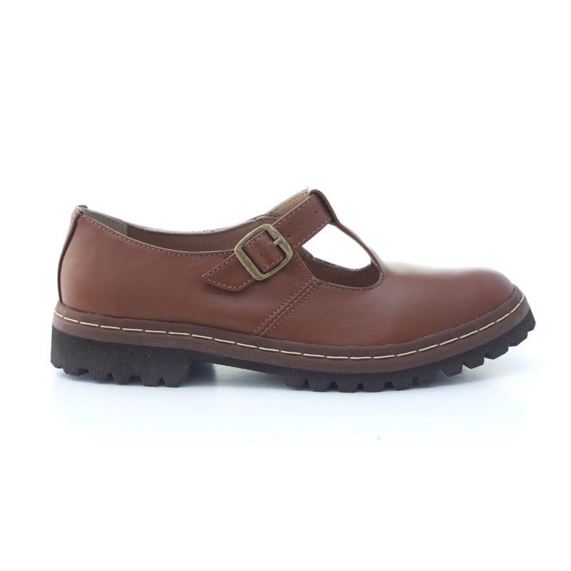 Sapato Tratorado Teodora Conhaque (bazar) 1