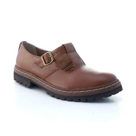 Sapato Tratorado Teodora Conhaque 3