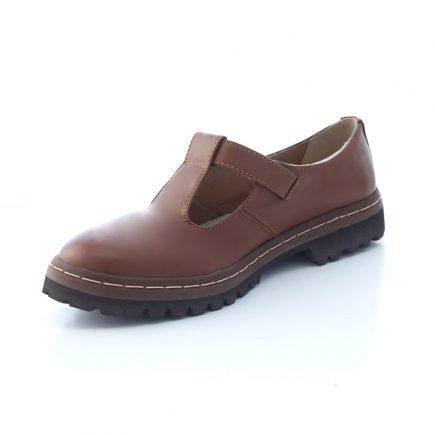 Sapato Tratorado Teodora Conhaque 5