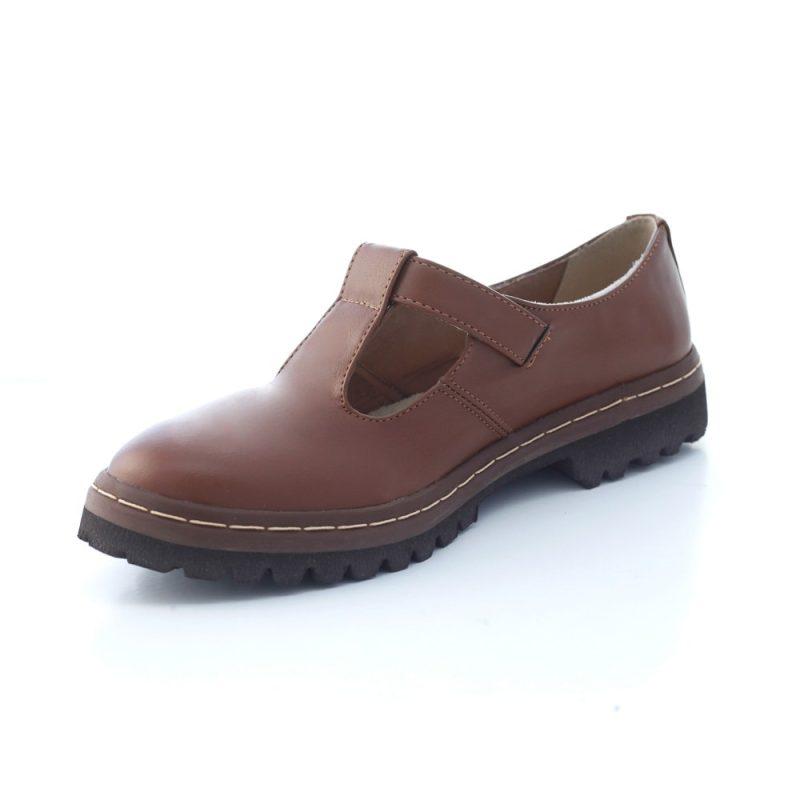 Sapato Tratorado Teodora Conhaque (bazar) 5