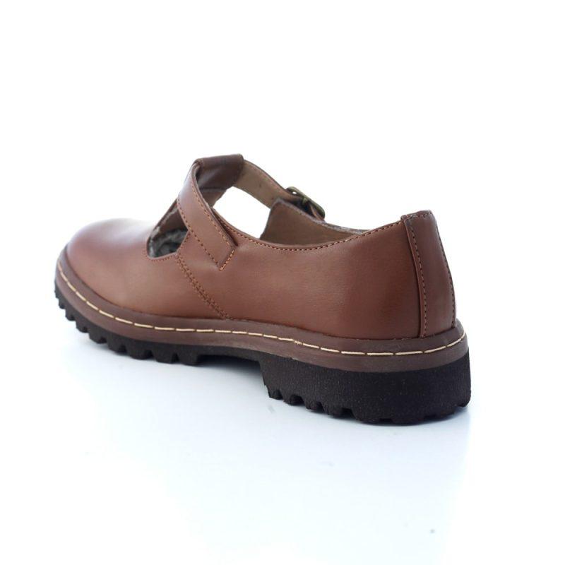 Sapato Tratorado Teodora Conhaque (bazar) 4