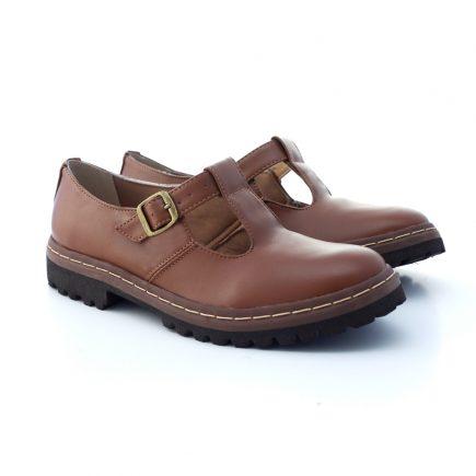 Sapato Tratorado Teodora Conhaque 2