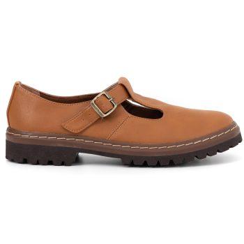 Sapato Tratorado Teodora Caramelo