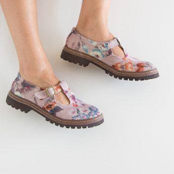 Sapato Tratorado Teodora Lilium