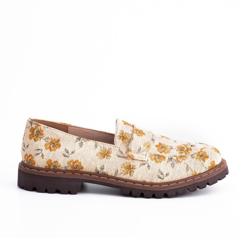 Sapato Loafer Vegano Urban Flowers