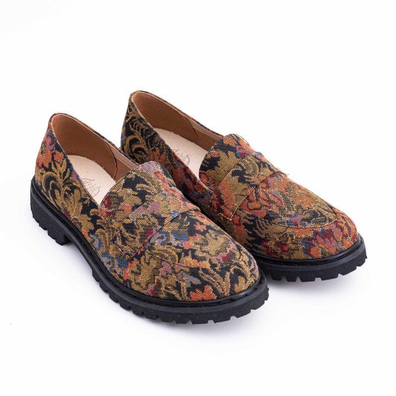 Sapato Loafer Vegano Urban Flowers