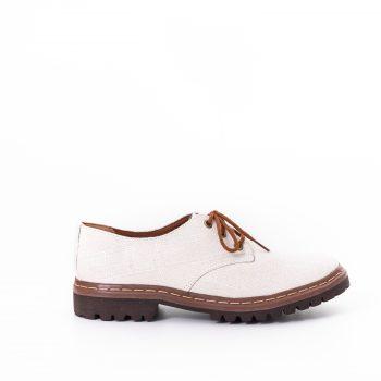 Sapato Tratorado Terra Off White (Amostra)