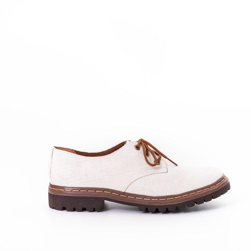 Sapato Tratorado Terra Off White (Amostra) 1