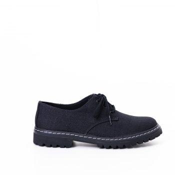 Sapato Tratorado Terra Preto (Amostra)
