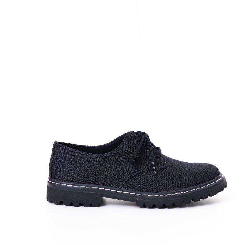 Sapato Tratorado Terra Preto (Amostra) 1