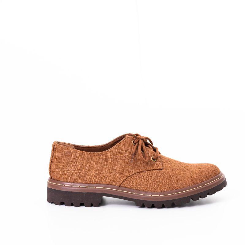Sapato Tratorado Terra Conhaque (Amostra) 1