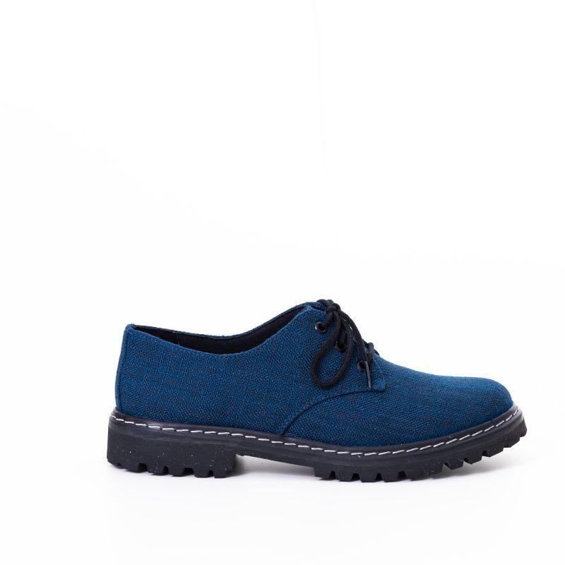 Sapato Tratorado Terra Azul Índigo (Amostra) 1