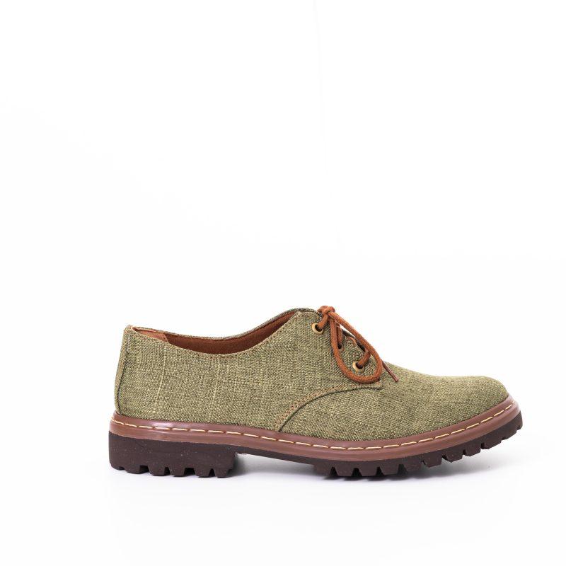 Sapato Tratorado Terra Aspargo (Amostra) 1