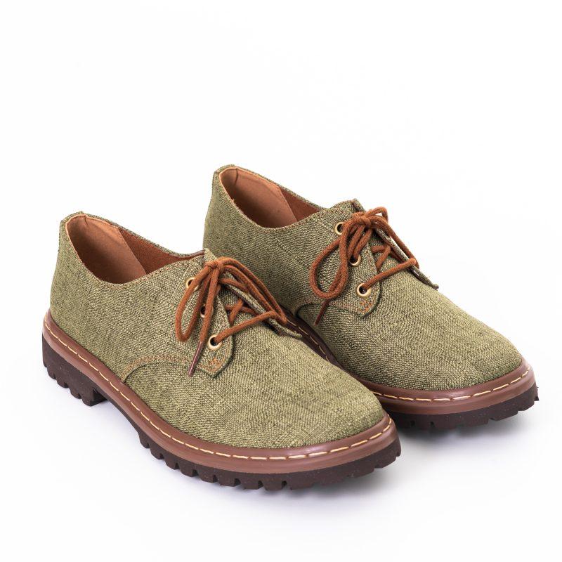 Sapato Tratorado Terra Aspargo (Amostra) 2