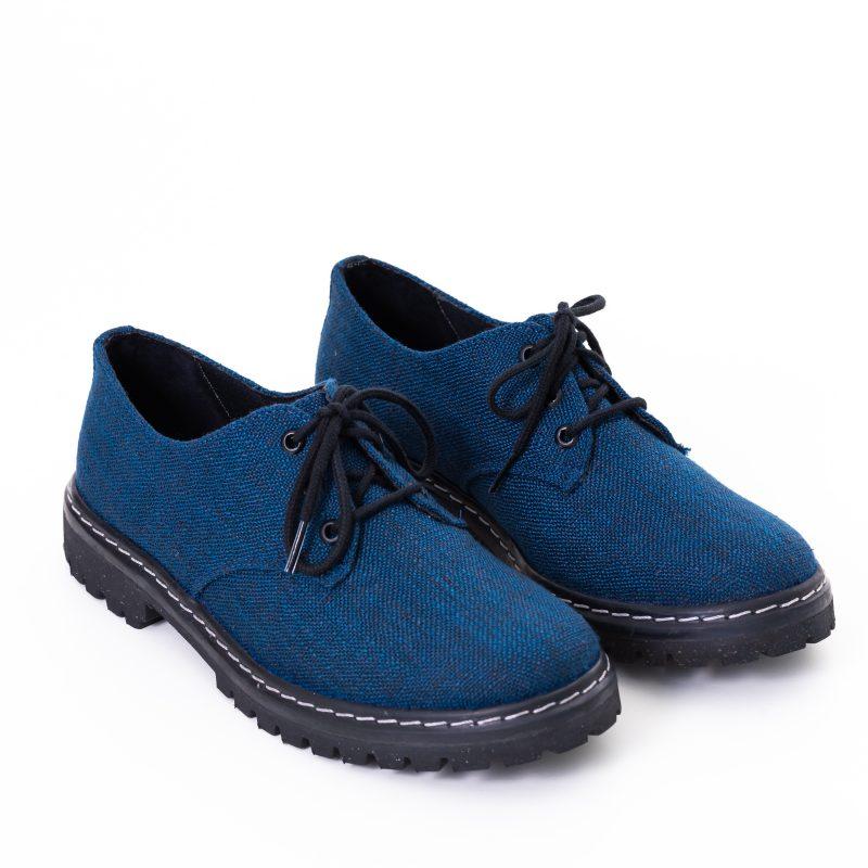Sapato Tratorado Terra Azul Índigo (Amostra) 2