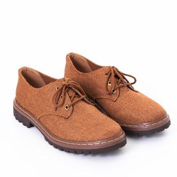 Sapato Tratorado Terra Conhaque (Amostra)