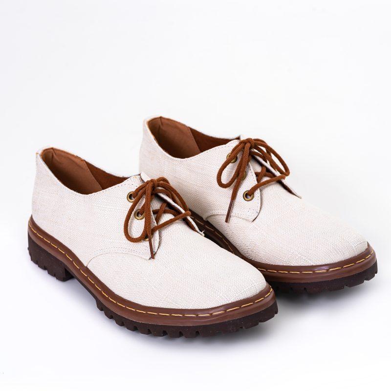 Sapato Tratorado Terra Off White (Amostra) 2