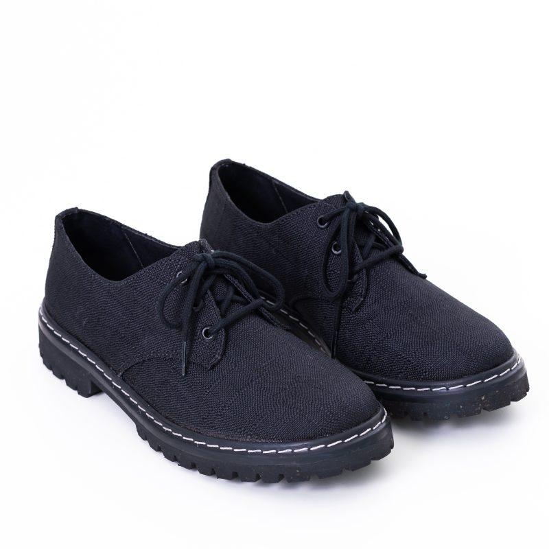 Sapato Tratorado Terra Preto (Amostra) 2