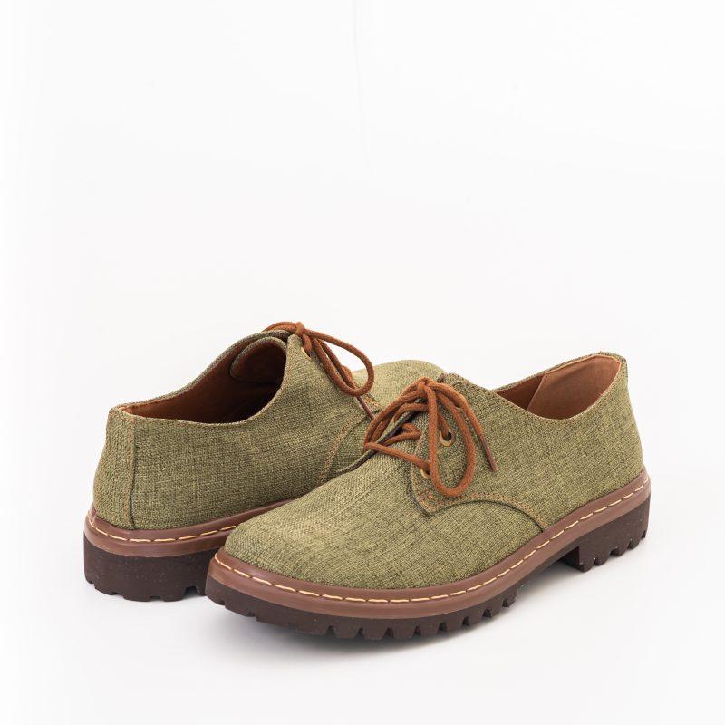 Sapato Tratorado Terra Aspargo (Amostra) 3
