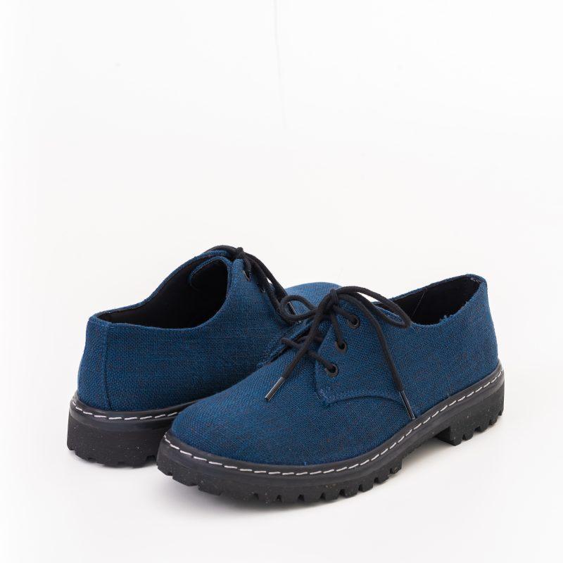 Sapato Tratorado Terra Azul Índigo (Amostra) 3