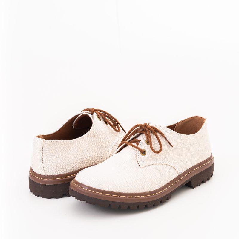 Sapato Tratorado Terra Off White (Amostra) 3