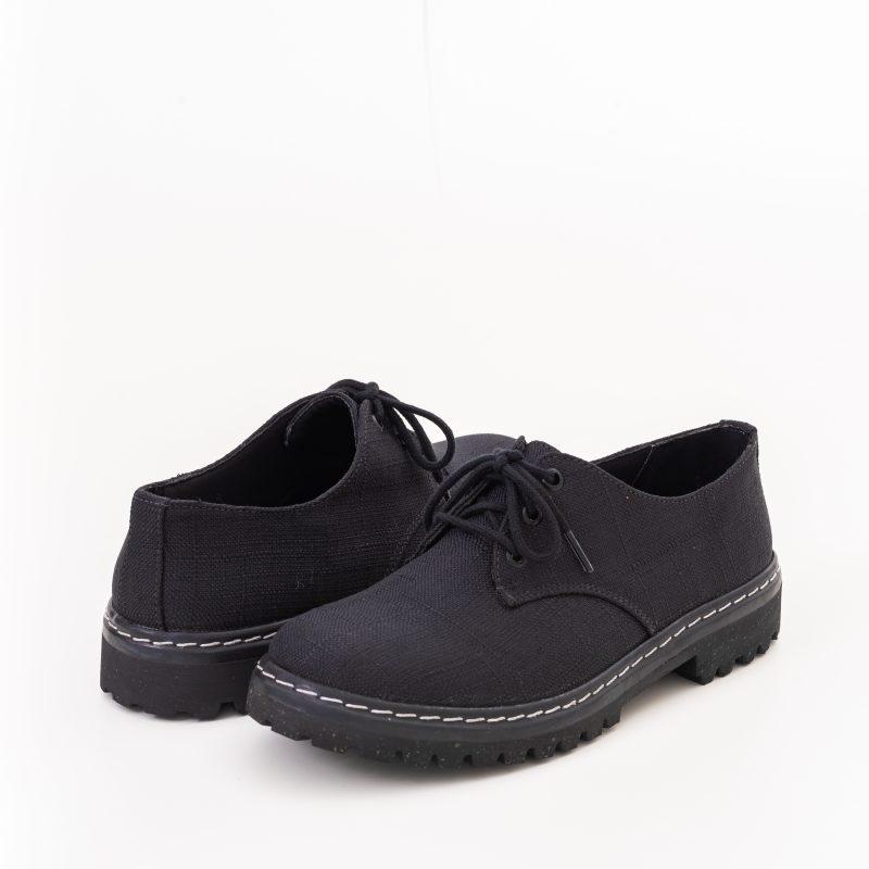 Sapato Tratorado Terra Preto (Amostra) 3