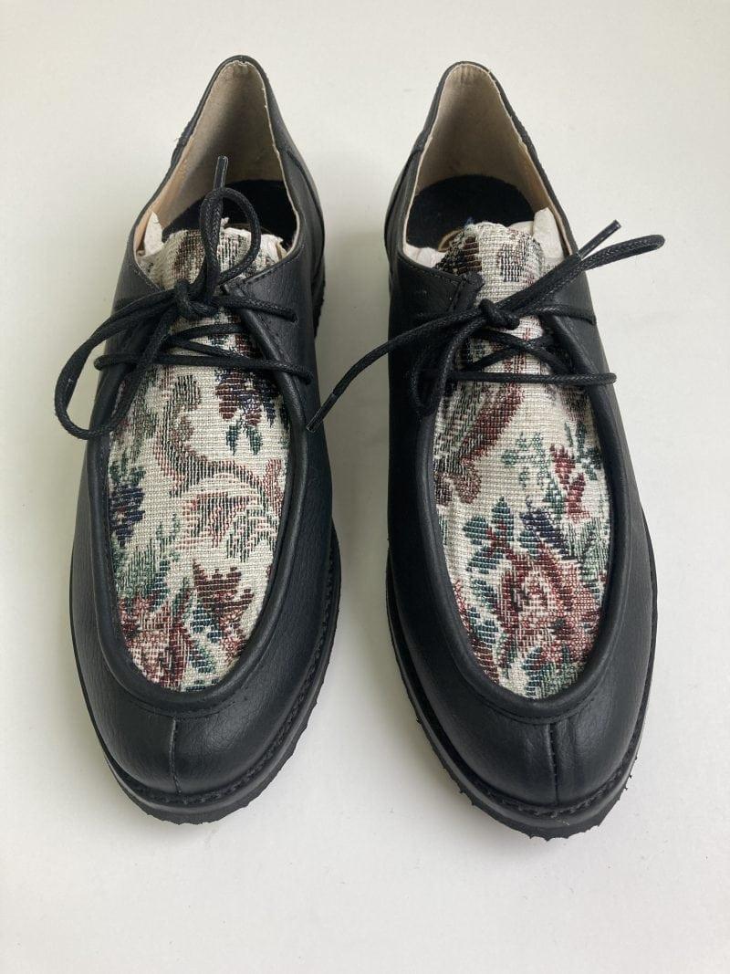 Sapato Yule Begônia Preto (Amostra) 2