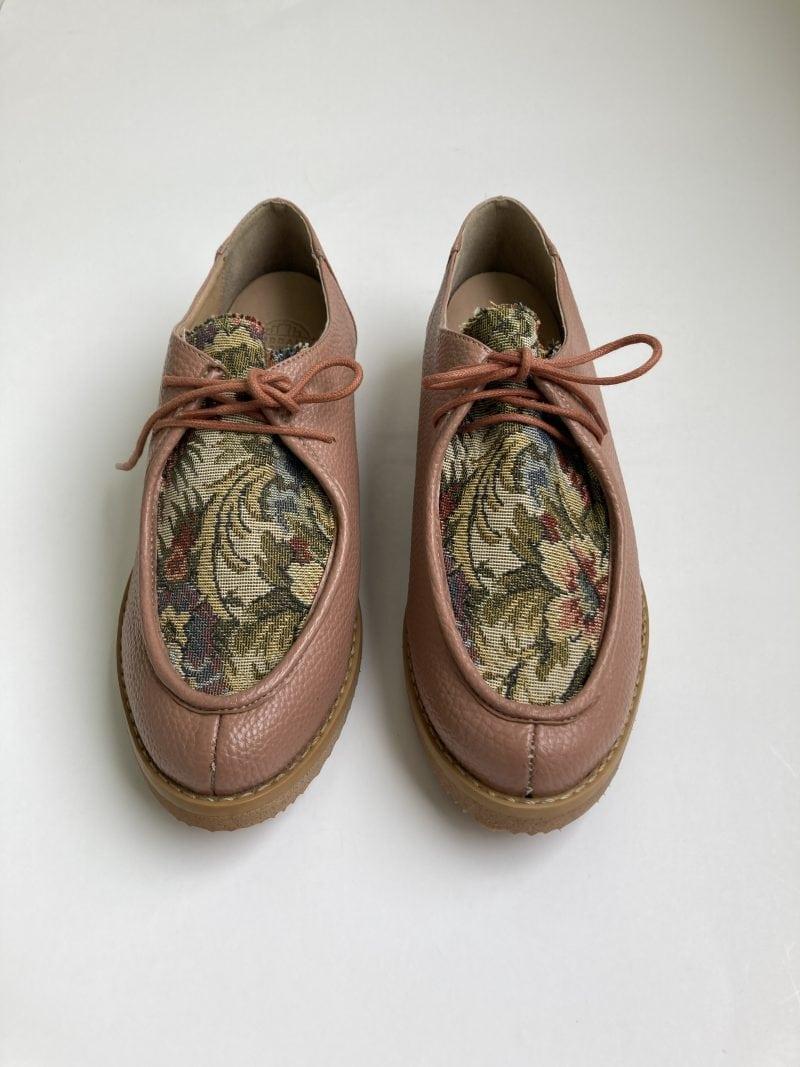 Sapato Yule Antique Floral (Pequenos Defeitos) 2