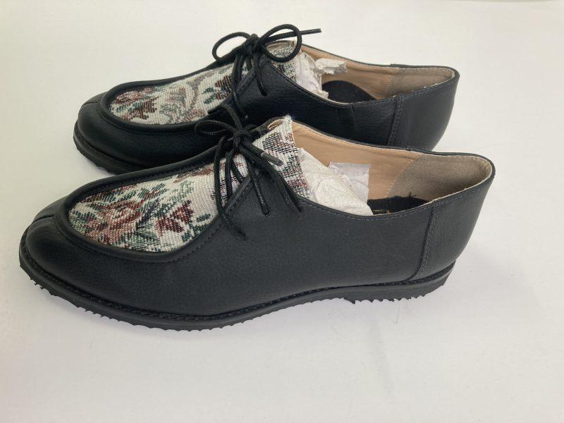 Sapato Yule Begônia Preto (Amostra) 3