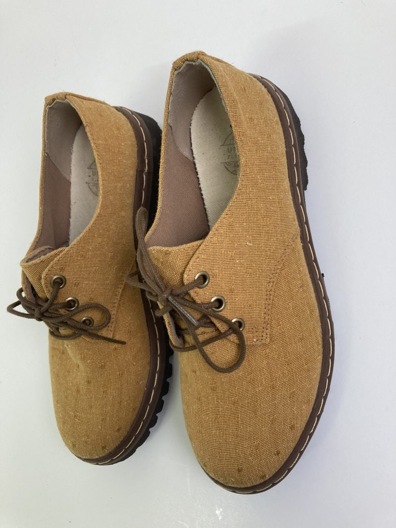 Sapato Tratorado Terra Poá Mostarda (Pequenos Defeitos) 4