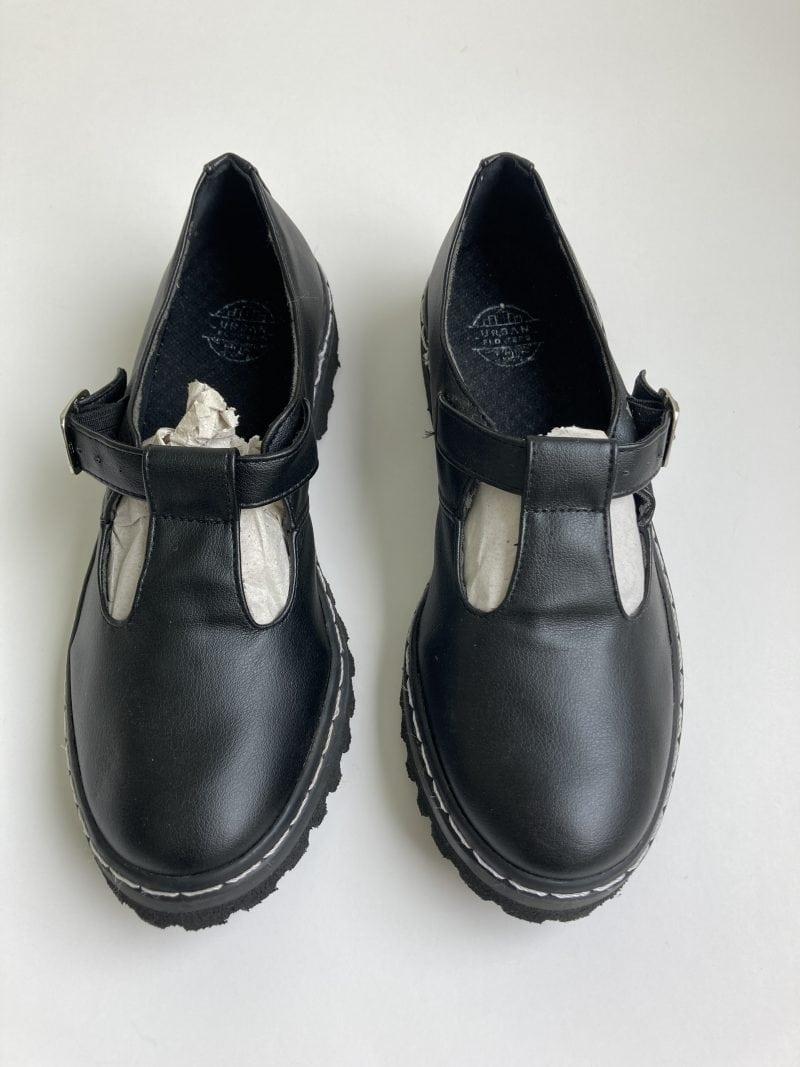 Sapato Tratorado Teodora Preto (Amostra) 3