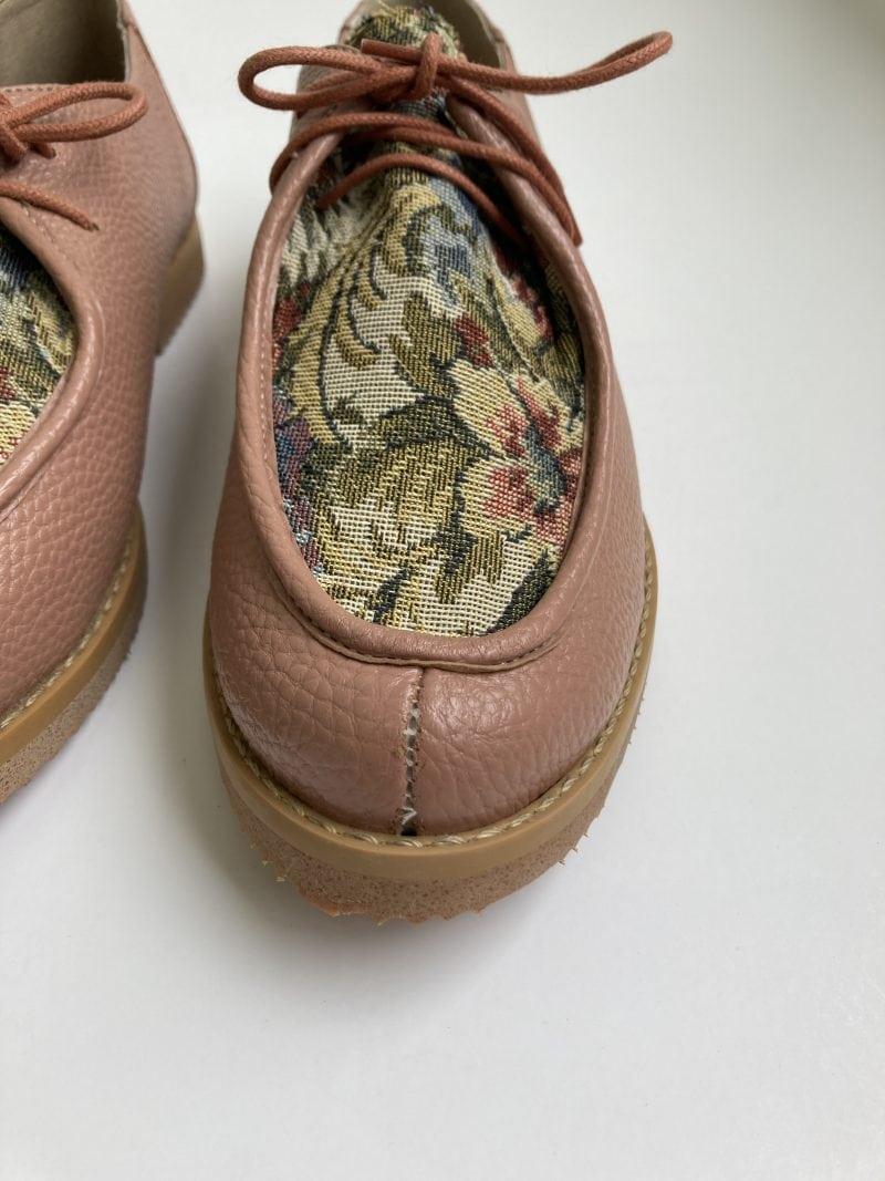 Sapato Yule Antique Floral (Pequenos Defeitos) 1
