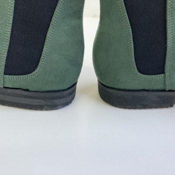 Bota Chelsea Verde Musgo (Amostra) (Pequenos Defeitos)