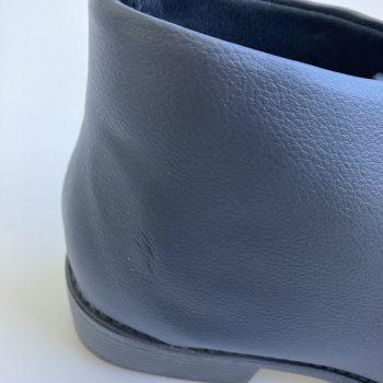 Bota Cadarço Preta (Amostra) (Pequenos Defeitos)
