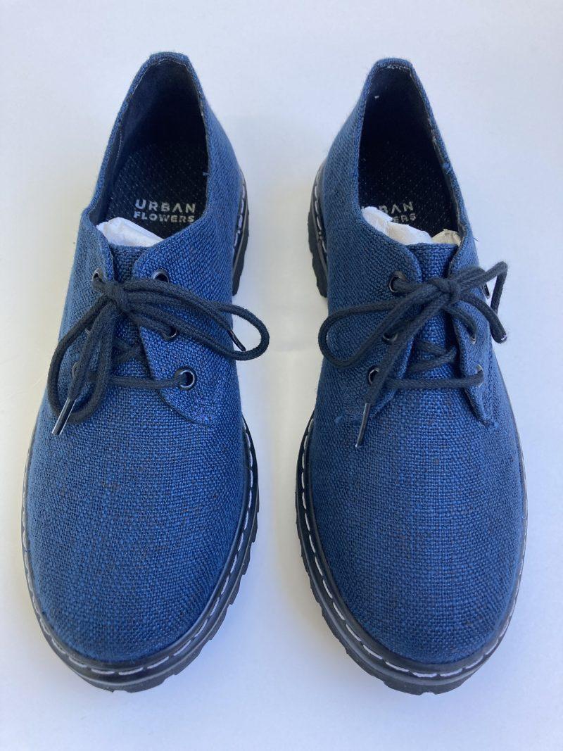 Sapato Tratorado Terra Azul Índigo (Amostra) 4