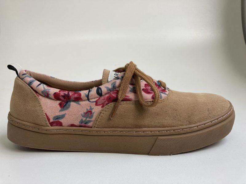 Tênis Ventura Floral Marrom (Amostra e Pequenos Defeitos) 1