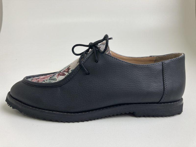 Sapato Yule Begônia Preto (Amostra) 1