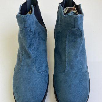Bota Chelsea Azul Cerúleo (Amostra) (Pequenos Defeitos)