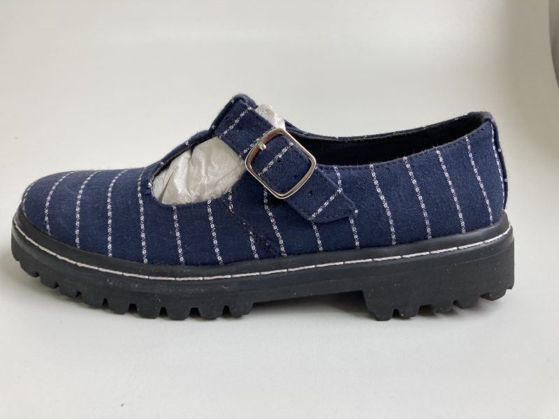 Sapato Tratorado Teodora Listrado (Amostra) (Pequenos Defeitos) 1