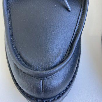 Sapato Yule Preto (Pequenos Defeitos)