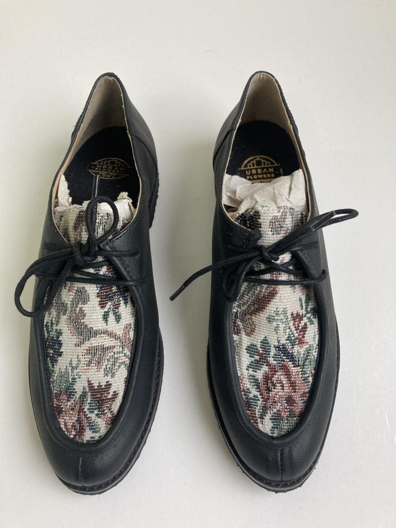 Sapato Yule Begônia Preto (Amostra) 4